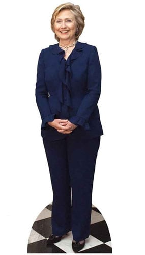 Hilary Clinton Lifesize Cardboard Cutout - 177cm Product Gallery Image