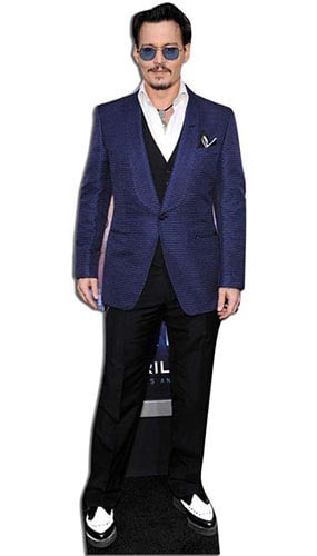 Johnny Depp Lifesize Cardboard Cutout - 186 cm Product Gallery Image