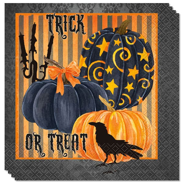 painted-pumpkin-luncheon-napkins-2-ply-33cm-pack-of-20-product-imge