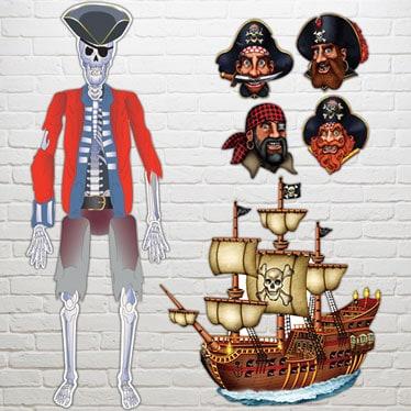 Pirate Decorative Cutouts