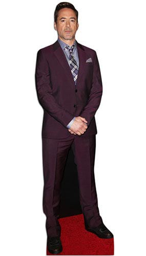 Robert Downey Jr Lifesize Cardboard Cutout - 182 cm Product Gallery Image