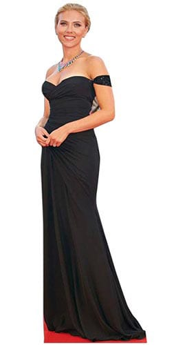 Scarlett Johansson Lifesize Cardboard Cutout - 174 cm Product Gallery Image