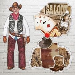 Wild West Decorative Cutouts