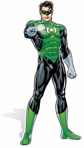 DC Comics Green Lantern Lifesize Cardboard Cutout - 184cm Product Gallery Image