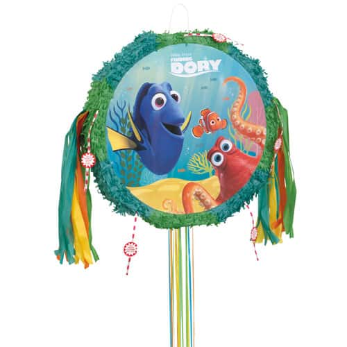 Finding Dory Pull String Drum Pinata