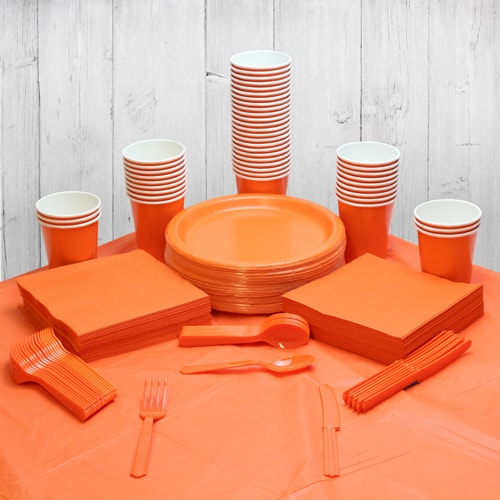 Orange 54 Person Party Pack