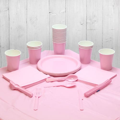 Pink 18 Person Party Pack
