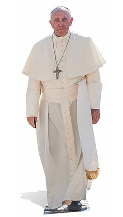 Pope Francis Lifesize Cardboard Cutout - 176cm Product Gallery Image