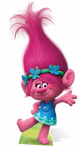 Trolls Princess Poppy Mini Cardboard Cutout - 94cm Product Gallery Image