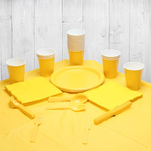 Yellow 18 Person Party Pack