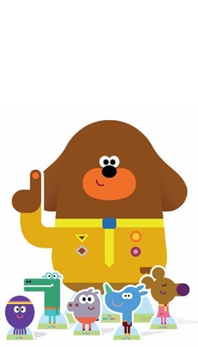 CBeebies Hey Duggee And Friends Lifesize Cardboard Cutout - 107cm Product Gallery Image