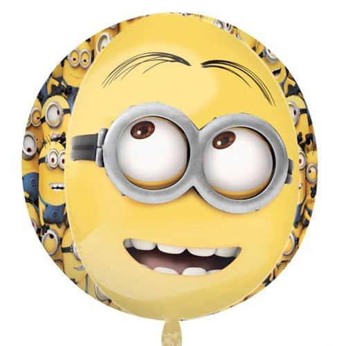 Despicable Me Minions Orbz Foil Helium Balloon 38cm / 15Inch