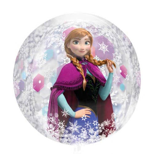 Disney Frozen Orbz Clear Balloon 38cm Product Image