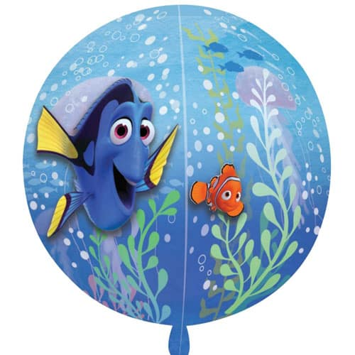 Finding Dory Orbz Clear Balloon 38cm
