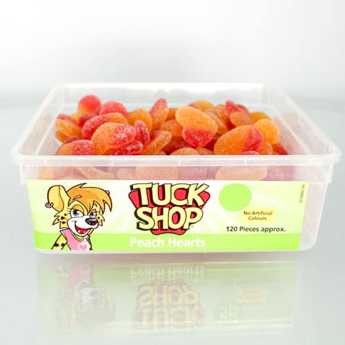 Fizzy Peach Jelly Sweets - Pack of 120