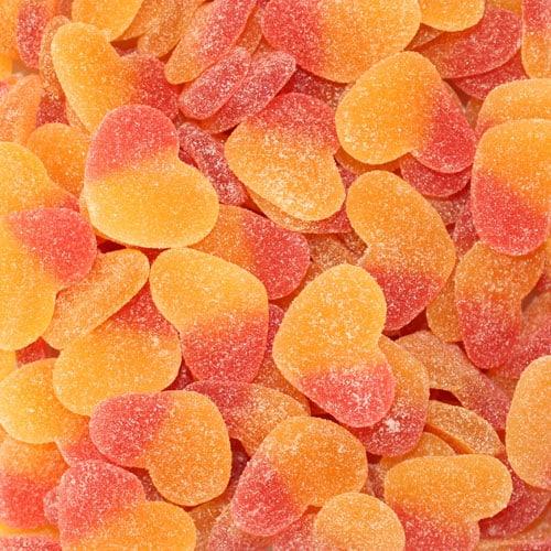 Fizzy Peach Jelly Sweet
