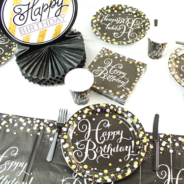 Gold Celebration Party Supplies