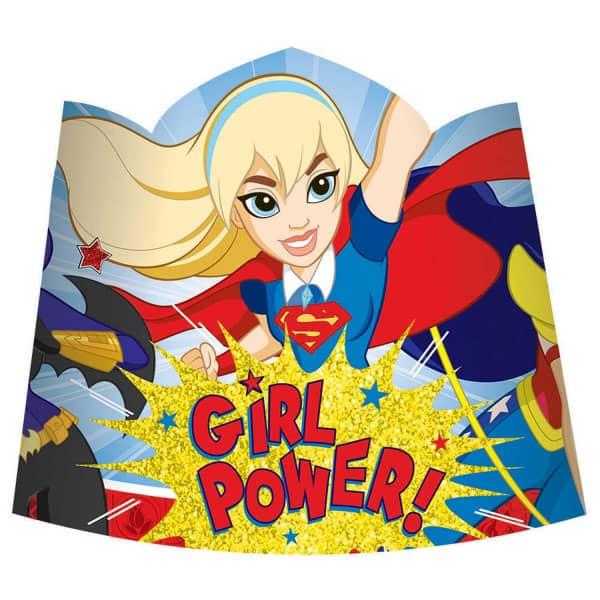 DC Super Hero Girls Tiaras - Pack of 8