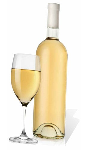 Glass and White Wine Cardboard Cutout - 184cm Product Gallery Image