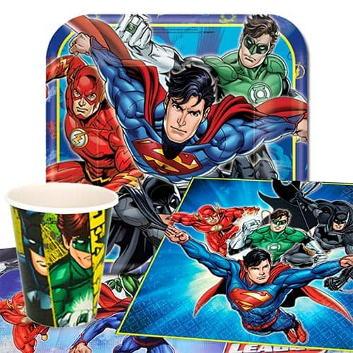 Justice League 8 Person Value Party Pack
