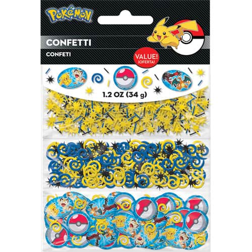 Pokemon Pikachu And Friends Value Confetti -Pack of 3-34gm