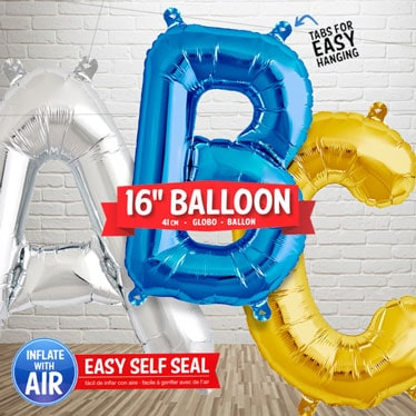 16 Inch Letter Balloons Category Image