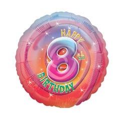 8th Birthday Balloons