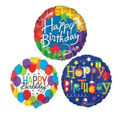 Birthday Message Balloons Category Image