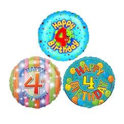 4th Birthday Balloons