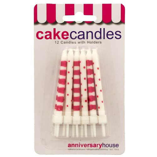 pink-dots-and-stripes-party-candles-with-holders-pack-of-12-product-image