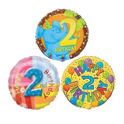 2nd Birthday Balloons