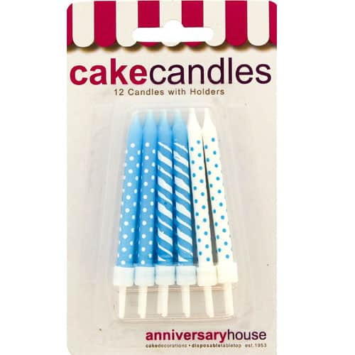 baby-blue-polka-dots-and-stripes-party-candles-with-holders-pack-of-12-product-image