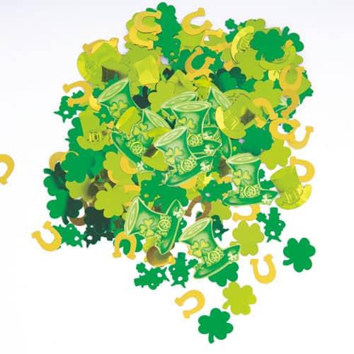 St Patricks Day Lucky Stripe Confetti 140g