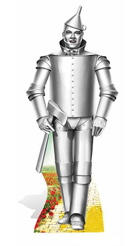 Wizard Of Oz The Tin Man Lifesize Cardboard Cutout - 171 cm Product Gallery Image