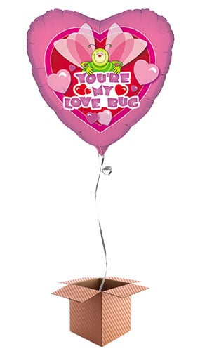 you-are-my-lovebug-heart-shape-46cm-foil-balloon-in-a-box-image