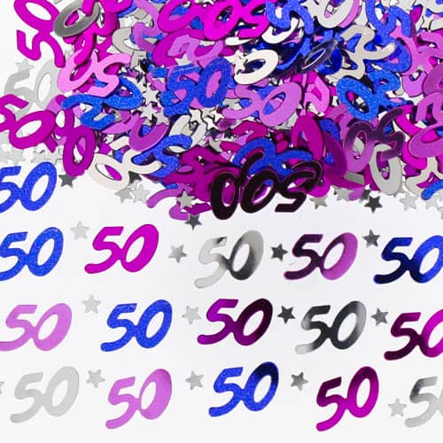 50th-birthday-pink-table-confetti-14-grams-product-image