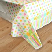 Baby Shower Plastic Tablecover 137 x 213cm