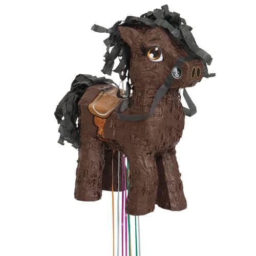 Brown Horse Pull String Pinata