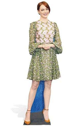 Emma Stone Lifesize Cardboard Cutout - 165cm Product Gallery Image