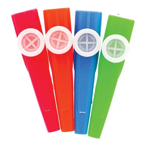 Kazoo Assorted Colours 11cm -Single Product Image