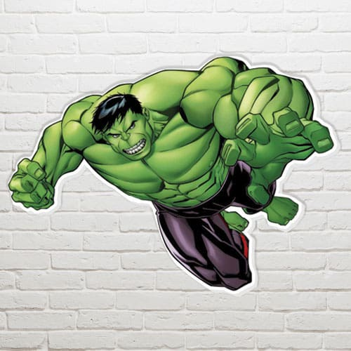 Marvel The Hulk Wall Art - 63 x 83cm Product Gallery Image
