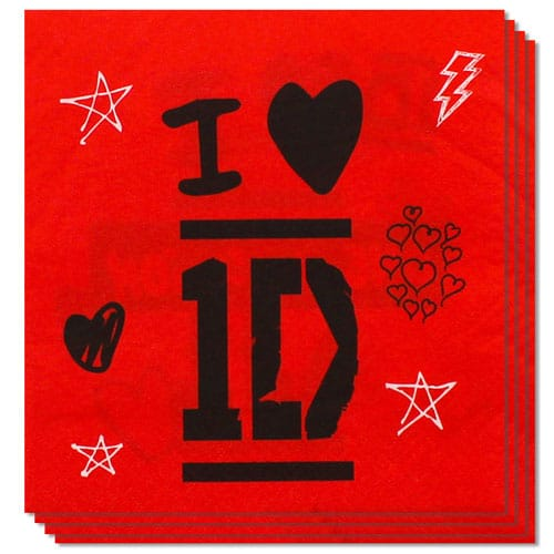 one-direction-i-love-1d-2-ply-luncheon-napkins-33cm-pack-of-16-product-image