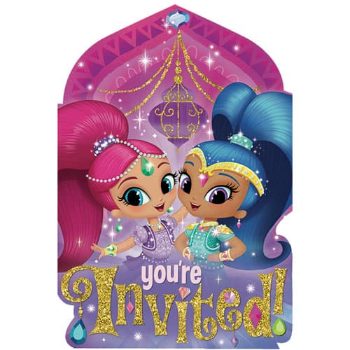 shimmer-and-shine-invitations-with-envelopes-pack-of-8-product-image