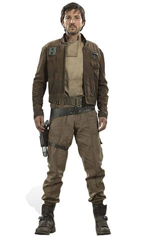 Star Wars Captain Cassian Andor Lifesize Cardboard Cutout - 178cm Product Gallery Image