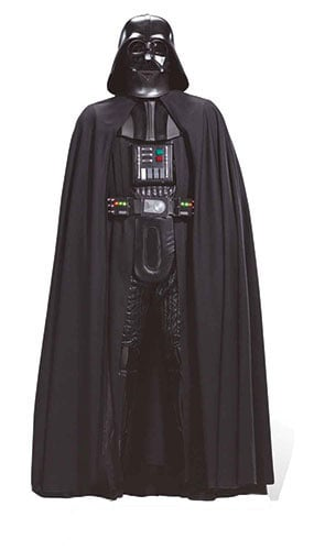 Star Wars Darth Vader Sith Lord Lifesize Cardboard Cutout - 194cm Product Gallery Image