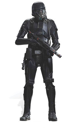 Star Wars Deathtrooper Lifesize Cardboard Cutout - 177cm Product Gallery Image