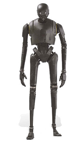 Star Wars K-2SO Droid Lifesize Cardboard Cutout - 194cm Product Gallery Image