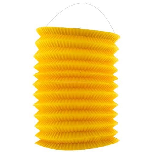 yellow-hanging-paper-lantern-16cm-product-image