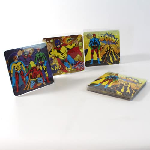 Assorted Superhero Jigsaw Puzzle - Pack Of 12 Product Image