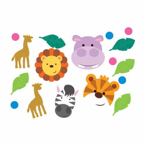 Jungle Friends Confetti - 14Grams